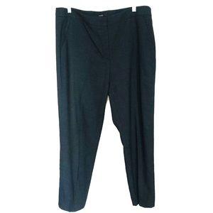 Tahari Black Straight Career Pants Sz 14